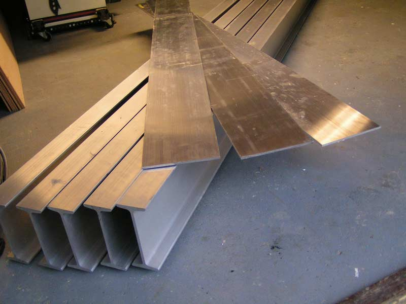Duckworks - Building an Aluminium Trailer - Part One