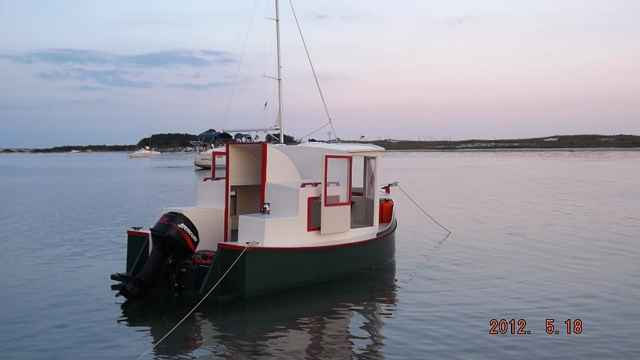 Duckworks Around Alone Mississippi Barrier Island Trip - Bolger micro trawler boats
