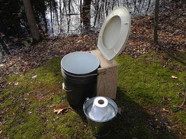 Duckworks Cheap Composting Toilet